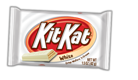 Kit Kat White chocolate 42,5g.