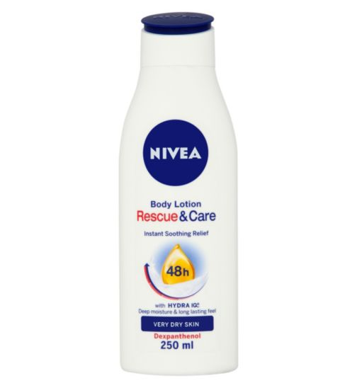 NIVEA Body Lotion Rescue and Care 48h Very Dry Skin